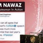 World Acknowledges Prime Minister Nawaz sharif. #MNSRockedUNGA http://t.co/OL9gRBJJtm