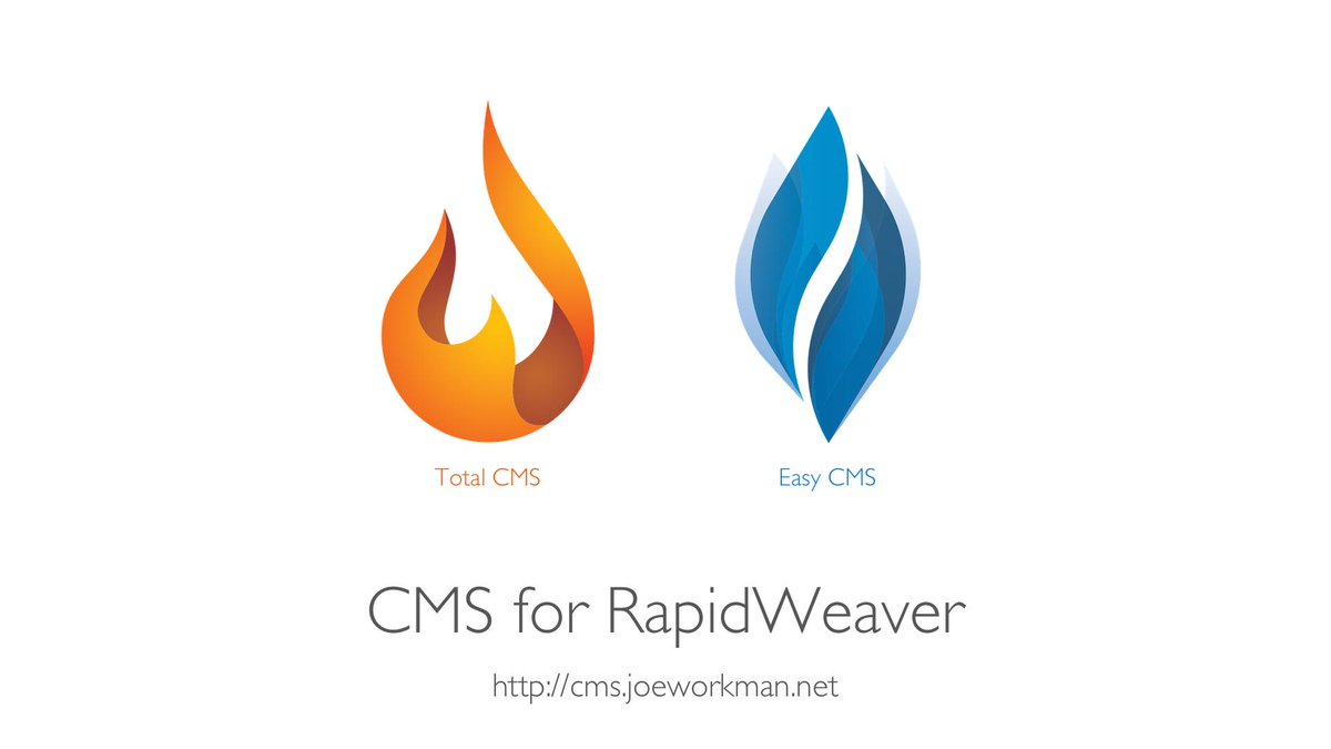 I an so happy to finally present to you my CMS for #RapidWeaver https://t.co/6IJb6HGZf5 https://t.co/En54QhpBGy