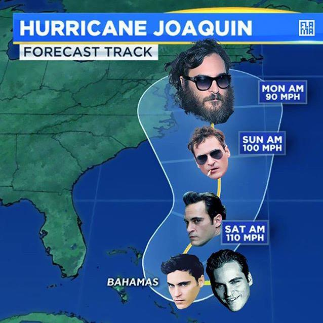 Are you prepared for #Joaquin? https://t.co/YLUeVMo00G