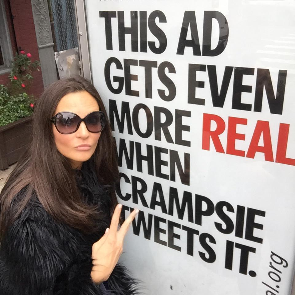 My ad is realer than your ad. Thanks @FeelTheRealOOH @mattdowshen! #feelthereal https://t.co/ciz6BFGNqc