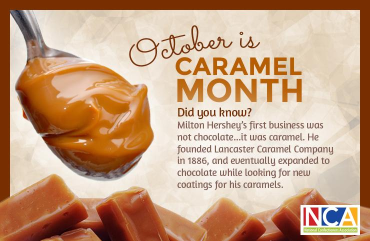 October is National Caramel Month! What are some of your favorite types of caramel candy? https://t.co/mGZA0hX0j4