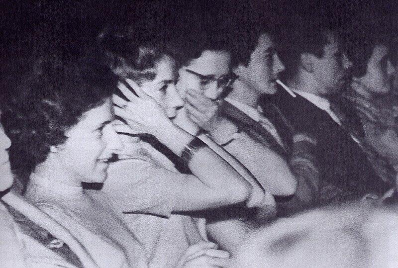 Audience reaction to Psycho's shower scene at its 1960 NYC premiere http://t.co/IWmU7zYpLC