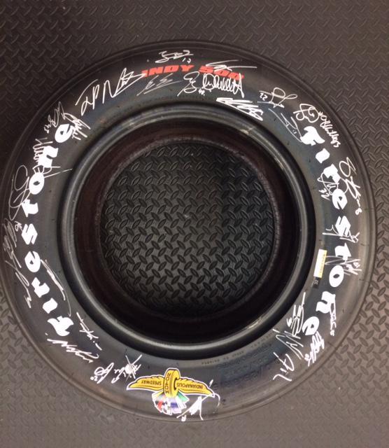 Win @FirestoneTires Indy Tire Driver Signed @GrahamRahal @ebaygivingworks @marshallpruett http://t.co/HhzIobpHBz http://t.co/ROnS1gAsNa