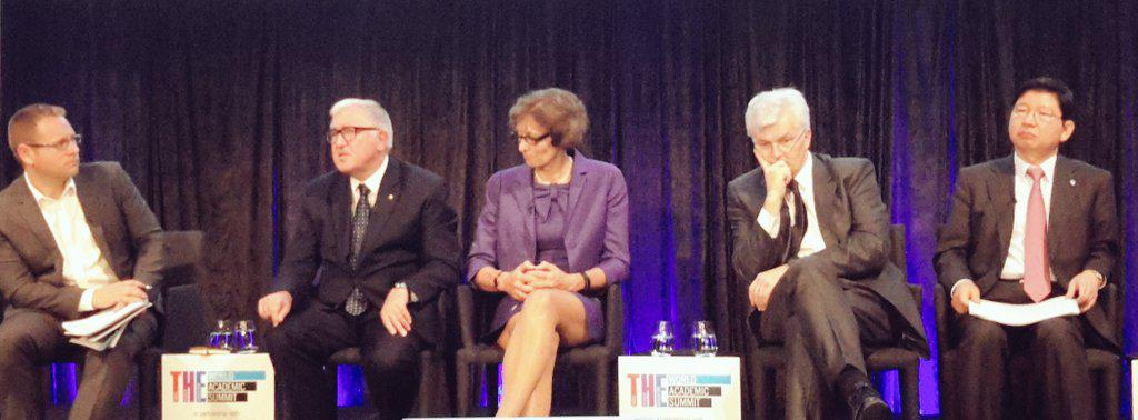 In years to come, Unis will need to be the hub (feed) but not lead: partners networks will decide excellence #thewas http://t.co/LLBIpKBhBL