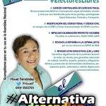 Ella es @HisvetF, candidata a la AN de la #AlternativaIndependiente en el #C3 #Lara. Aquí sus propuestas http://t.co/9NDL8CTmrx