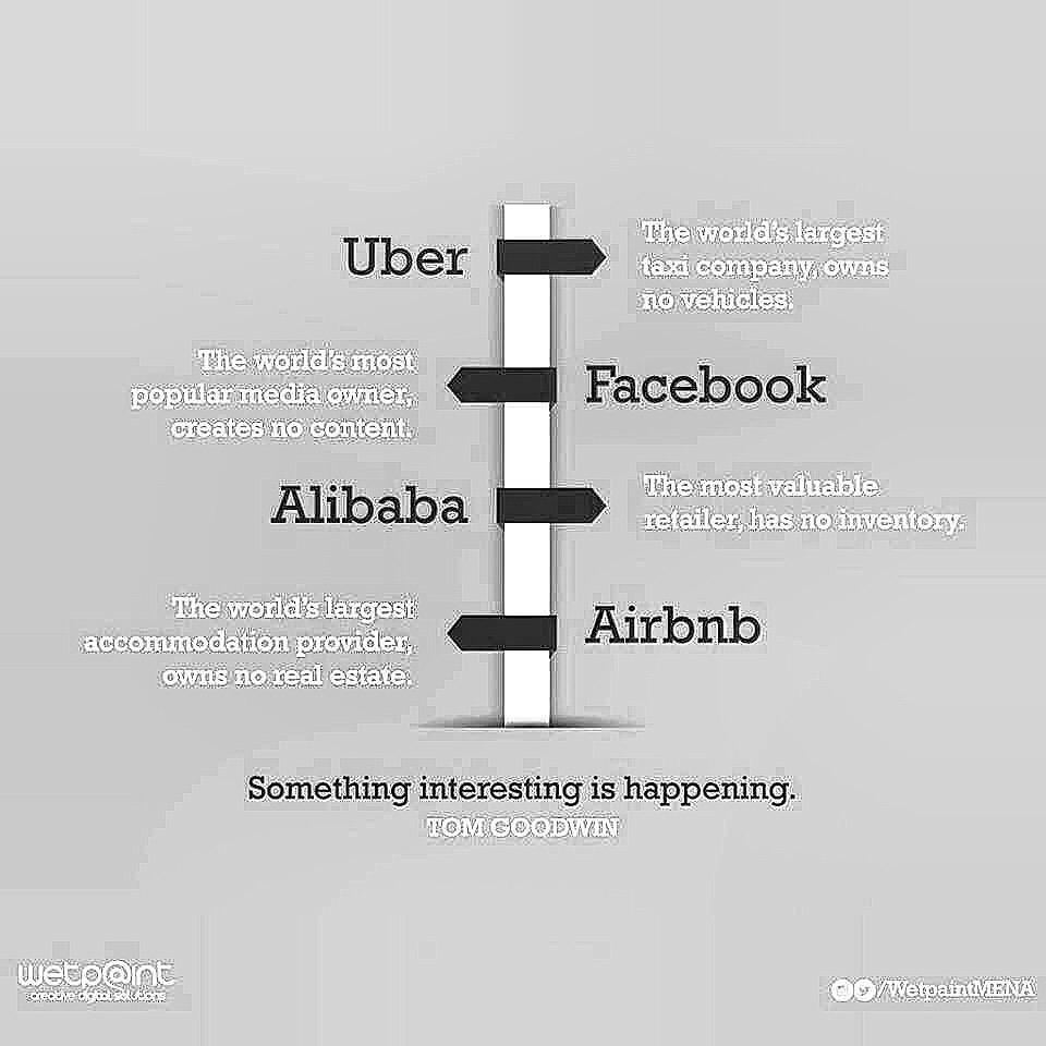 This is interesting - evolution in business. #disrupters http://t.co/OhMEW9m7Hp