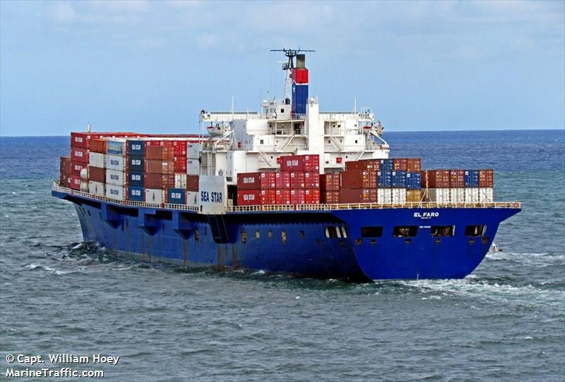 American ship 'El Faro' with 33 crew missing in #HurricaneJoaquin. Here's the latest: https://t.co/G5Xsgx7yd1 http://t.co/nrQzh0Grcz