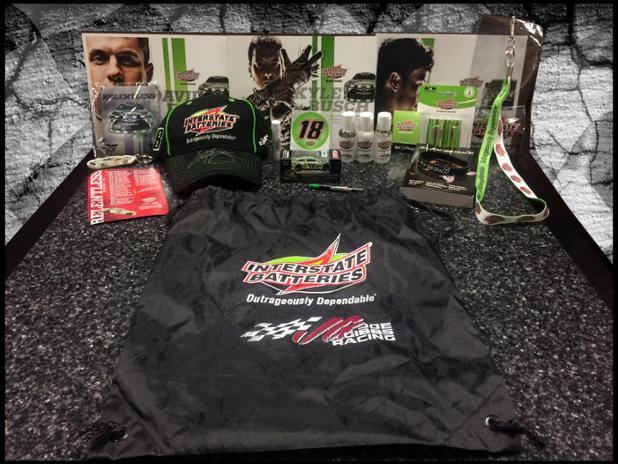 Hey @KyleBusch fans - Want this #TeamInterstate swag bag from @interstatebatts? Just RT for your chance to win. http://t.co/ONFhRxVIOs