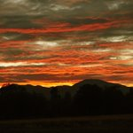 An October 1, 2015 sunset from the McConnell Foundation in Redding. http://t.co/4IM3LGz8dO
