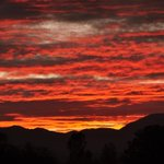 An October 1, 2015 sunset from the McConnell Foundation in Redding. http://t.co/9X63YIGDJ7