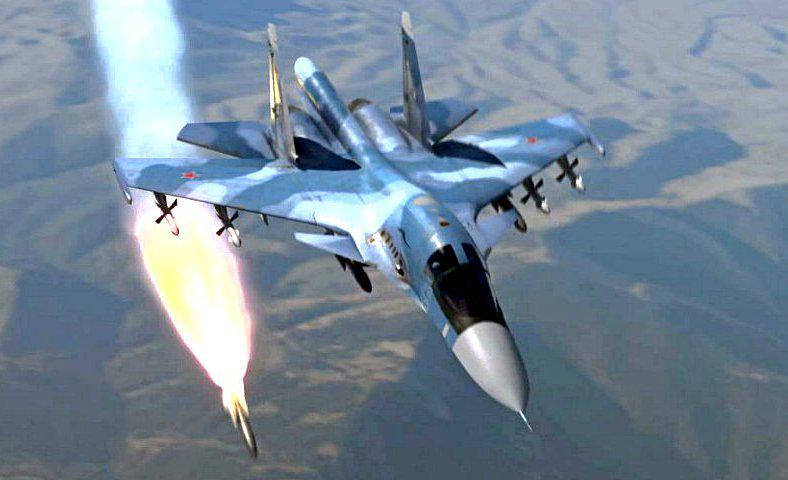 В течение двух суток авиация ВКС РФ уничтожила 237 объектов боевиков в Сирии