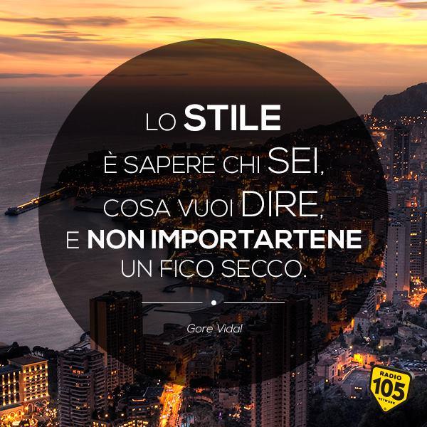 Questione di stile! #Buongiorno  [#quote Gore Vidal • 3 ottobre 1925] http://t.co/9f5qtNR0u3