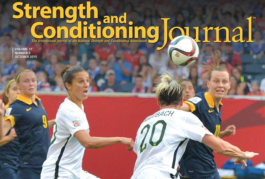 strength and conditioning journal pdf