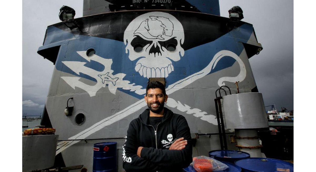 RT @QuadSeaShepherd: Captain Siddharth Chakravarty: 'Journey to the Last Ocean' http://t.co/0M7vrTuPLy http://t.co/imsWlrHz4e
