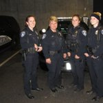 Some of our swing-shift officers getting ready for Friday night patrol & #FallArtsWalk. http://t.co/nqT0VAfDaX