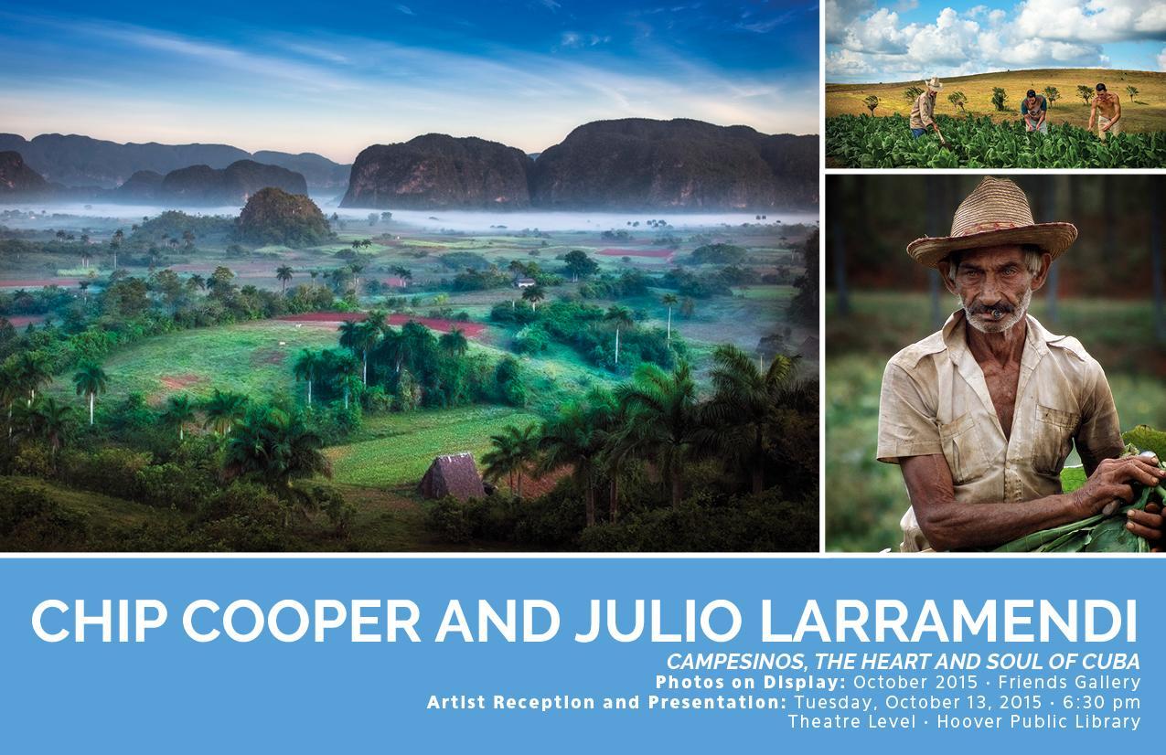 Chip Cooper y Julio Larramendi. Campesinos, the heart and soul of Cuba http://t.co/115Ov4DWbl