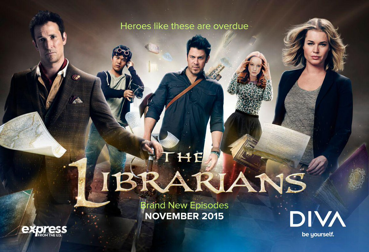 The Librarians will be dropping INTERNATIONALLY in November! WOOOT!  RT! #TheLibrarians http://t.co/liHkHYqOOE