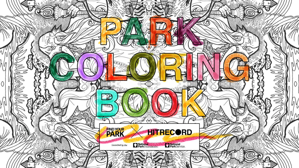 RT @hitRECord: We're making a coloring book filled with awesome Nat'l Parks images. Come design it w/ us - http://t.co/JTF13G0fDp http://t.…
