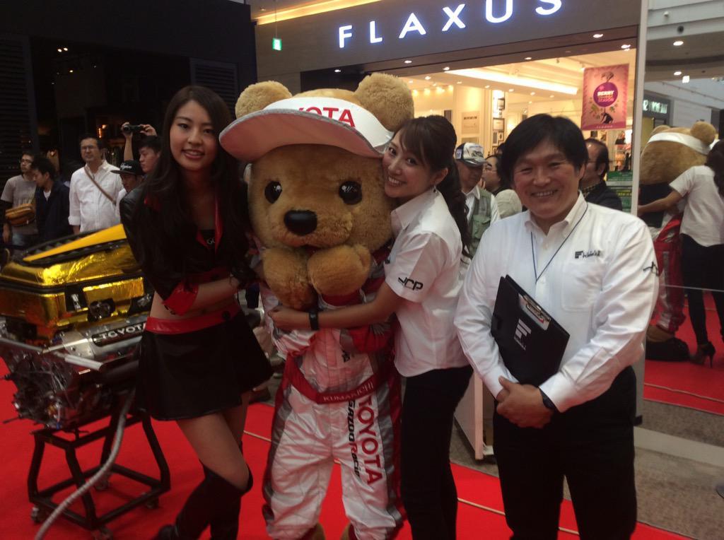 イオンモール名取でSFイベント開催中です! 小倉さんはいつも優しいし、SUGO RQのチホちゃんはほんと可愛い