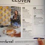 """Foto van mij (vaartkom Leuven) gepubliceerd op de cover van de """"Leuven bijlage"""" van de weekendknack van deze week http://t.co/NAM8bsfyPf"""