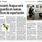 """Lo Dijo @TareckPSUV: """"Aragua será vanguardia en nuevas políticas de exportación"""" #ExpoAraguaPotencia2015 http://t.co/yMdJhjpMo2"""