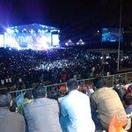 Malam ini #MataNajwaOnStageBatu pecahkan rekor MURI sbg program talkshow yg digelar di stadion bola http://t.co/47LAVzV3Hn