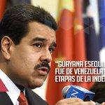 @VTVcanal8: #ElEsequiboEsDeVenezuela #TheEssequiboIsVenezuelan http://t.co/K3Y1K1yjxX