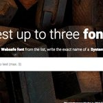 Can't decide on a #Font? TEST THEM ALL!!! http://t.co/jEQdfANdww http://t.co/TLe152WwMk