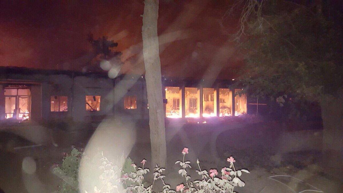Afeganistão: hospital de #MSF em Kunduz é bombardeado com instalação lotada. http://t.co/WtixpNmoqA http://t.co/2unNwuMMmm