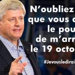 N'OUBLIEZ PAS !! #fed2015 #elxn42 #Canada #stopHarper http://t.co/O1gFRRMR4T