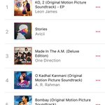 RT @leon_james: #Ko2 Album #1 on Apple Music! Thank you so much everyone for your love and support:)