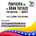 Participa con las etiquetas #ElEsequiboEsDeVenezuela y #TheEssequiboIsVenezuelan http://t.co/iBDoN8nbE0