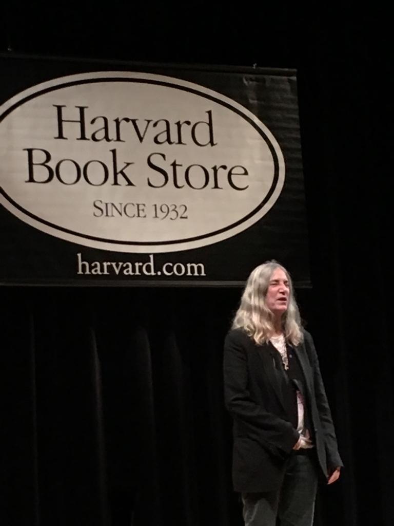 Here she is. #MTrain @AAKnopf @HarvardBooks http://t.co/kZ18tAH8WP