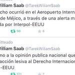 Tarek detenido en México por aviso de Interpol Saludos y un fuerte abrazo a Interpol de parte de los Venezolanos http://t.co/oz7TGtfVxW