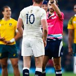 Wallabies v England: Yellow card for Owen Farrell #ENGvAUS http://t.co/383SdGdsS9 Picture: Getty http://t.co/BYEBopKojW