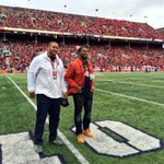 Great to have #Illini greats & NFLers Jon Asamoah and @TavonWilson27 back for todays game. http://t.co/YD1uvgiuSs