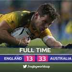 A superb all-round show from @bernardfoley against #ENG clinches #AUSs place in the #RWC2015 quarter-finals #ENGvAUS http://t.co/nIFP87bEpv