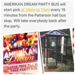 THE MOVE TONIGHT! FREE PARTY BUS, COLLEGE FREE TIL 11, $10 GREEK AND VSU FOOTBALL SKIPLINE, FREE DRANK #theC #MBK http://t.co/4As2oEKos0