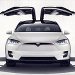 Freaky Falcon Wing doors and a Bio-weapon Defense mode, @TeslaMotors' #ModelX SUV has arrived http://t.co/9PGOoq8JDt http://t.co/F6pQPoDgtc