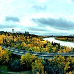 What a view from the High Level Bridge #yeg #ExploreEdmonton http://t.co/3y0LQnJwMn