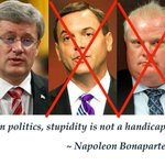 """Remember Harper boast about Conservative """"hattrick"""" at Ford BBQ? Two down and one to go, Ontario. #cdnpoli #onpoli http://t.co/25Kdm1Nh0Y"""