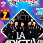 @adictivaoficial @memogarzaa #M103 @isaacadictivo   Aqui Nos vemos #PalenqueFeriaTlaxcala2015  #7Nov 💜❤💜❤  http://t.co/qPOJZTc7Tk
