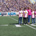 Earlier today we honored members of our #CalFamily who have bravely fought breast cancer. #BreastCancerAwarenessMonth http://t.co/NszKglFMaY