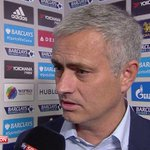 Chelsea manager Jose Mourinho reacts after defeat to Southampton: Referees are afraid to give decision for Chelsea. http://t.co/2wOprbtUnh