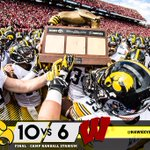 #Hawkeyes win! The Heartland Trophy is coming back to Iowa City! http://t.co/G3Qr59wB9n