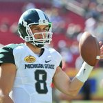 Michigan State QB Connor Cook passes Kirk Cousins for most wins as a starter in school history. http://t.co/61WqwyOWV9