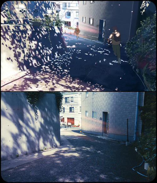 Realidad vs a 5cm por segundo (秒速5センチメートル), parte 2: