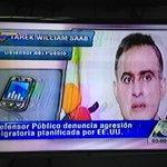 Alerta migratoria sufrió el Defensor del Pueblo @TarekWiliamSaab en el Aeropuerto de México!! EEUU continúa su plan http://t.co/NLe2v9OVNv