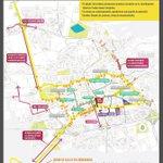 """""""@QroMaraton: RECUERDA: mañana habrá cierres viales de las 00:00 hrs. a las 14:00 hrs. Consulta mapa:"""" http://t.co/JB3WHibQgT"""