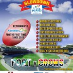 Dont miss tomorrows #WestEndSlowdown at #AdelaideOval for a day of fun footy and live entertainment http://t.co/YiDqKSIFPl